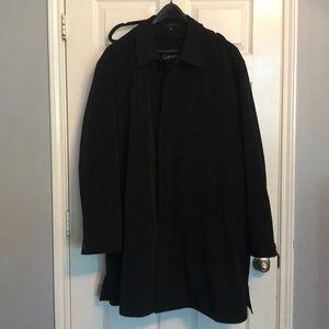 Calvin Klein men's over coat.